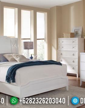 Model Baru Tempat Tidur Minimalis Shabby Chic Olivia BT-0236