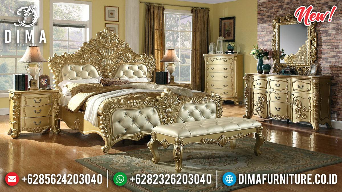 Model Termewah Kamar Set Klasik Luxury Ukiran Jepara BT-0214