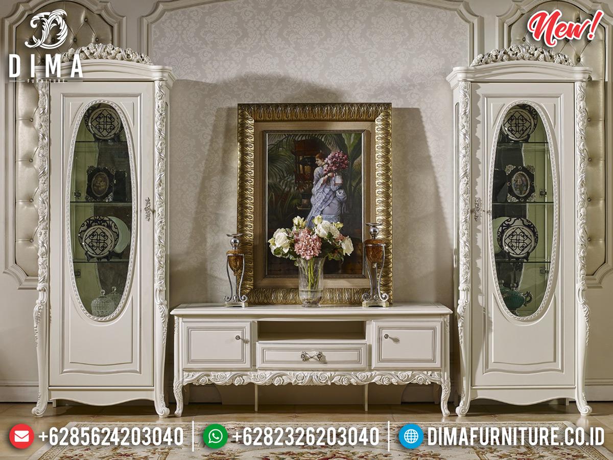 Murah!!! Bufet TV Mewah Kualitas Terbaik Mebel Jepara BT-0293