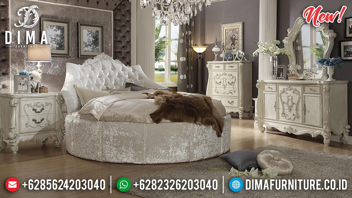 New Desain Kamar Set Modern Circularity Mahkota Ukir BT-0217