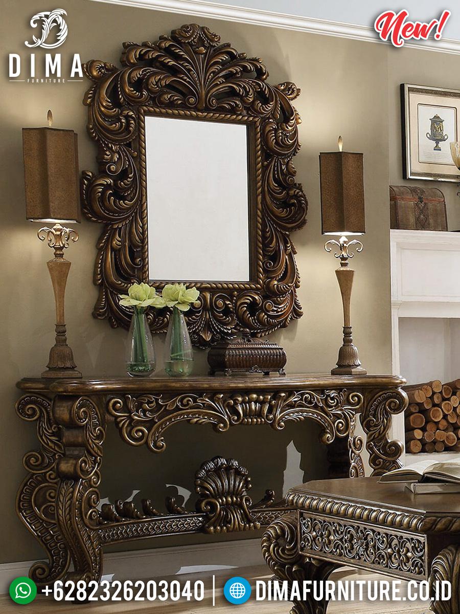 New Set Meja Konsol Mewah Baroque Design BT-0244