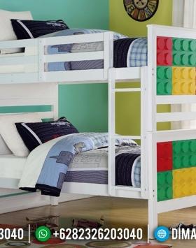 Terbaru Dipan Tingkat Anak Model Lego Lucu BT-0249