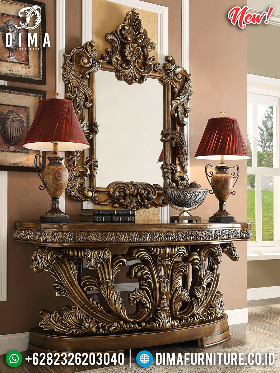 Victorian Meja Konsol Luxury Classic Full Carving BT-0246