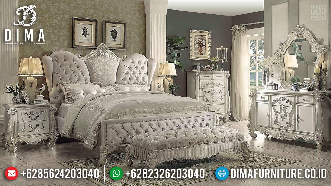 Harga Tempat Tidur Mewah, Bedroom Sets Luxury Ukiran Asli Jepara BT-0354