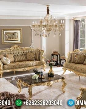 Model Sofa Tamu Mewah Furniture Jepara Golden Luxury New 2020 BT-0370