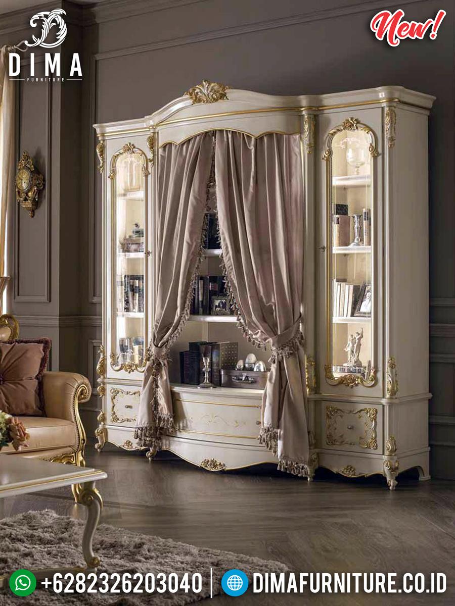 New Model Lemari Hias Mewah Imperial Luxury Style BT-0337