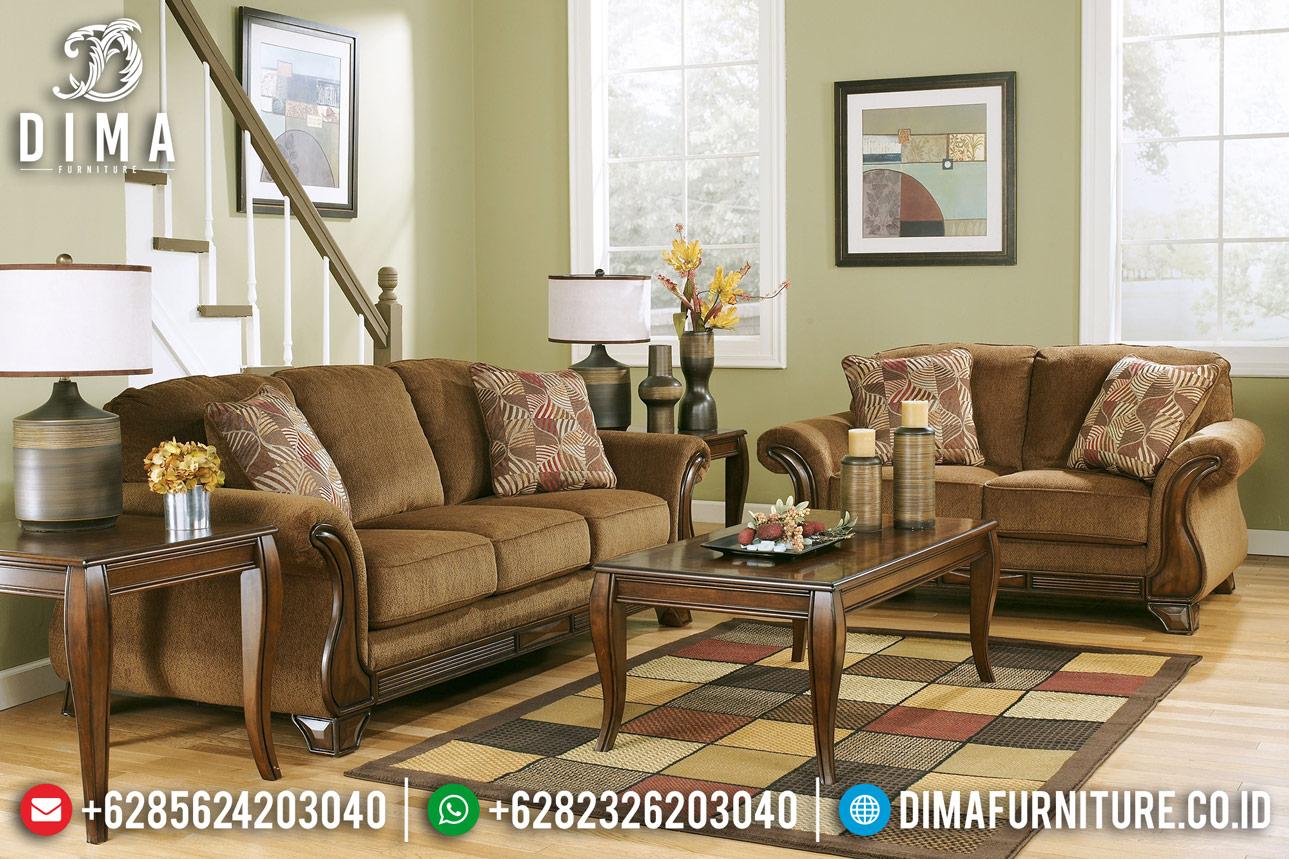 New Sofa Tamu Mewah Luxembourg Luxury Furniture Jepara BT-0369