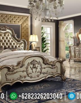 Set Tempat Tidur Mewah Golden Luxury New 2020 BT-0355