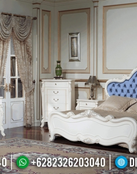 Tempat Tidur Mewah Valentine New Design Luxury Classic Jepara BT-0352