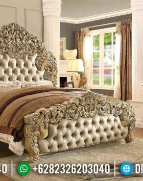 Terbaru Tempat Tidur Mewah Ukiran Eropa Classic Royals Imperial BT-0353