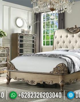 Bedroom Sets Luxury Modern, Kamar Set Ukiran Jepara, Tempat Tidur Mewah BT-0386