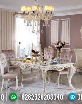 Furniture Jepara Luxury Classic Meja Makan Mewah New Design 2020 BT-0373