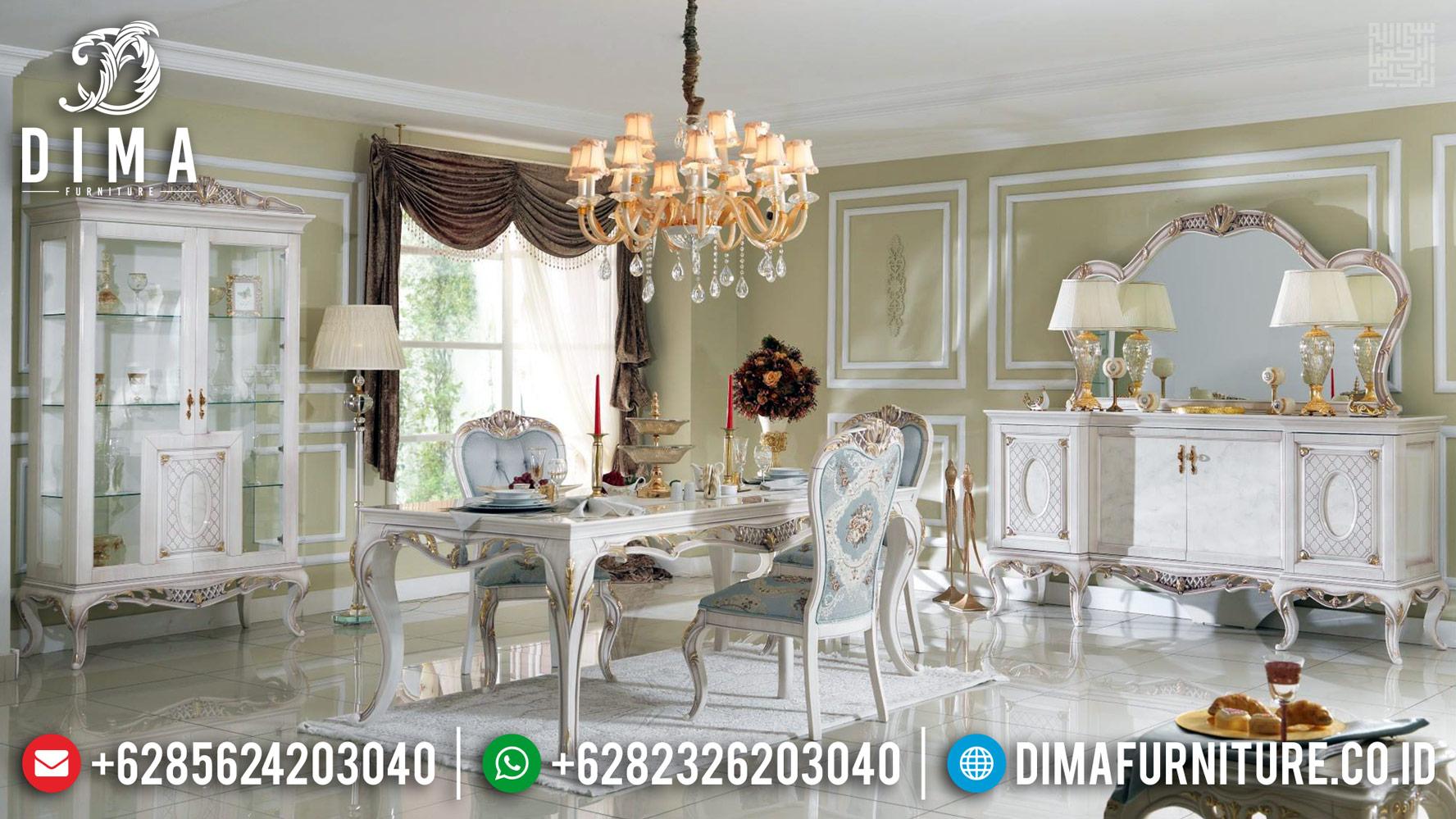 Furniture Jepara Luxury Meja Makan Mewah Harga Discount BT-0374