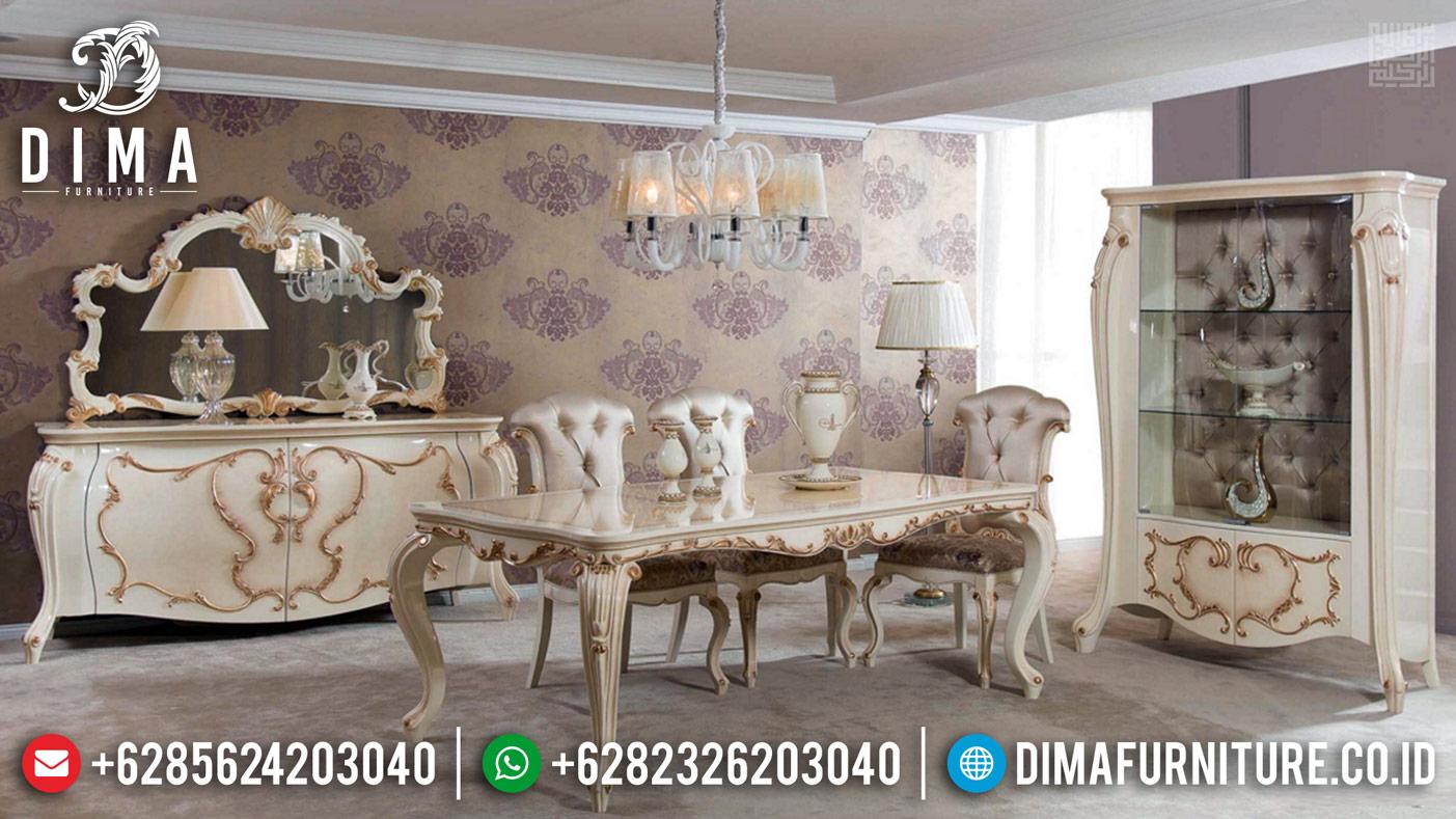 New Meja Makan Mewah Persian Kingdom Furniture Jepara Terkini BT-0372