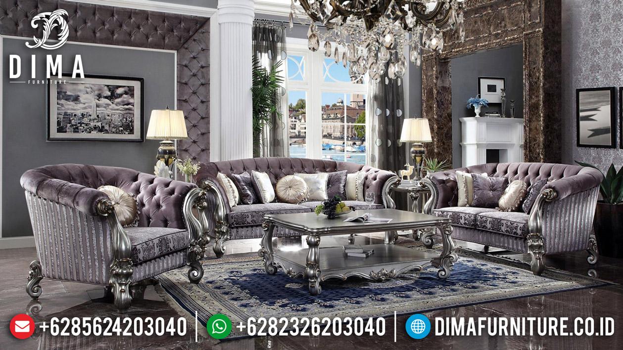 Desain Ruang Tamu Kursi Sofa Mewah Ukiran Luxury Classic Jepara BT-0573