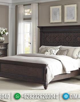Desain Tempat Tidur Minimalis Jati Natural Big Sale Price BT-0563