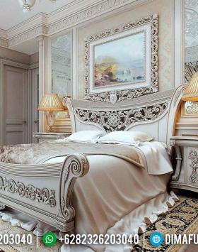 Gambar Kamar Set Mewah Empire Style Luxury Carving Relief BT-0540