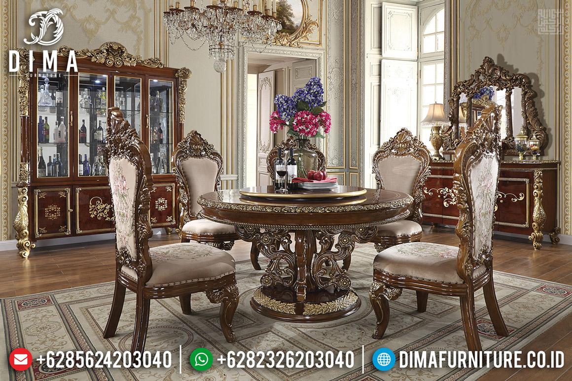 Harga Meja Makan Jati Renaissance Classic Furniture Jepara BT-0547