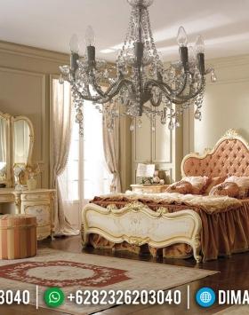 Harga Set Kamar Mewah Classic Mahkota Ukir Luxury Mebel Jepara BT-0560
