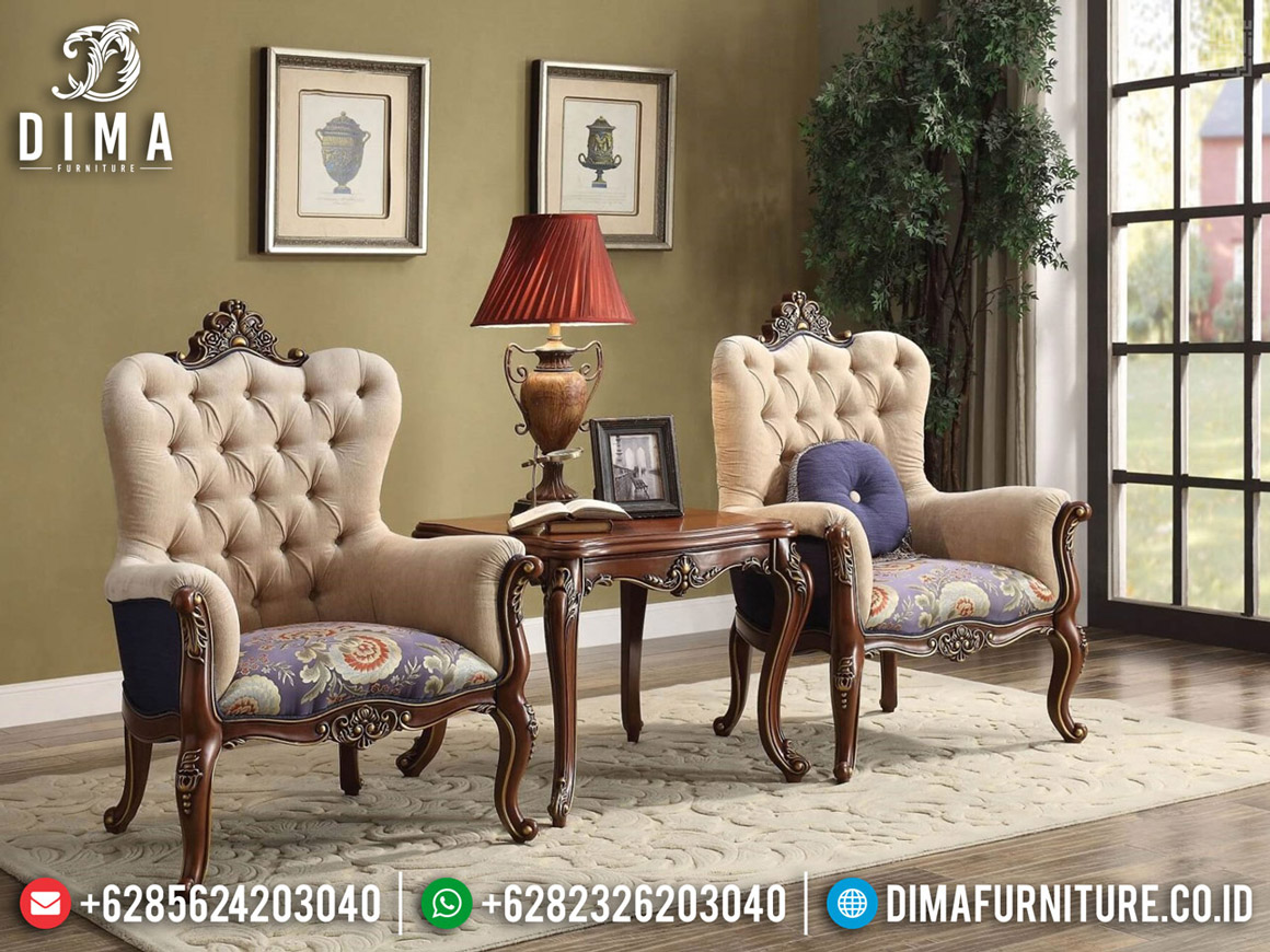 Kursi Teras Mewah Jepara, Coffee Table Luxury, Sofa Santai Ukiran BT-0575