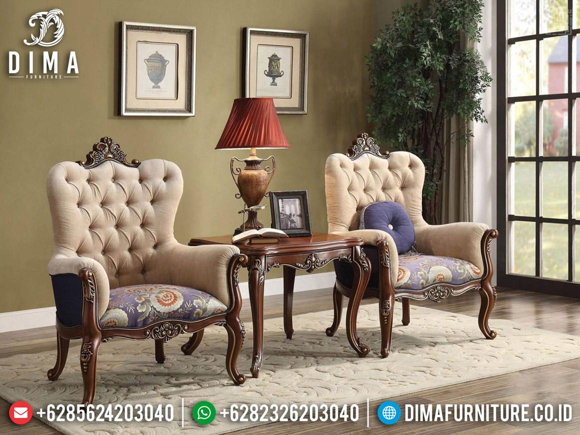 Kursi Teras Mewah Jepara, Coffee Table Luxury, Sofa Santai Ukiran BT-0575