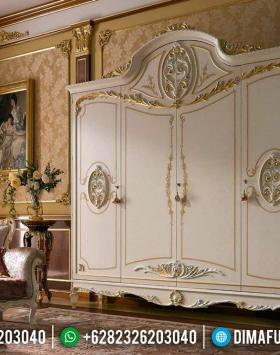 Lemari Pakaian Ukiran Mewah Jepara Europe Design Furniture Jepara BT-0508