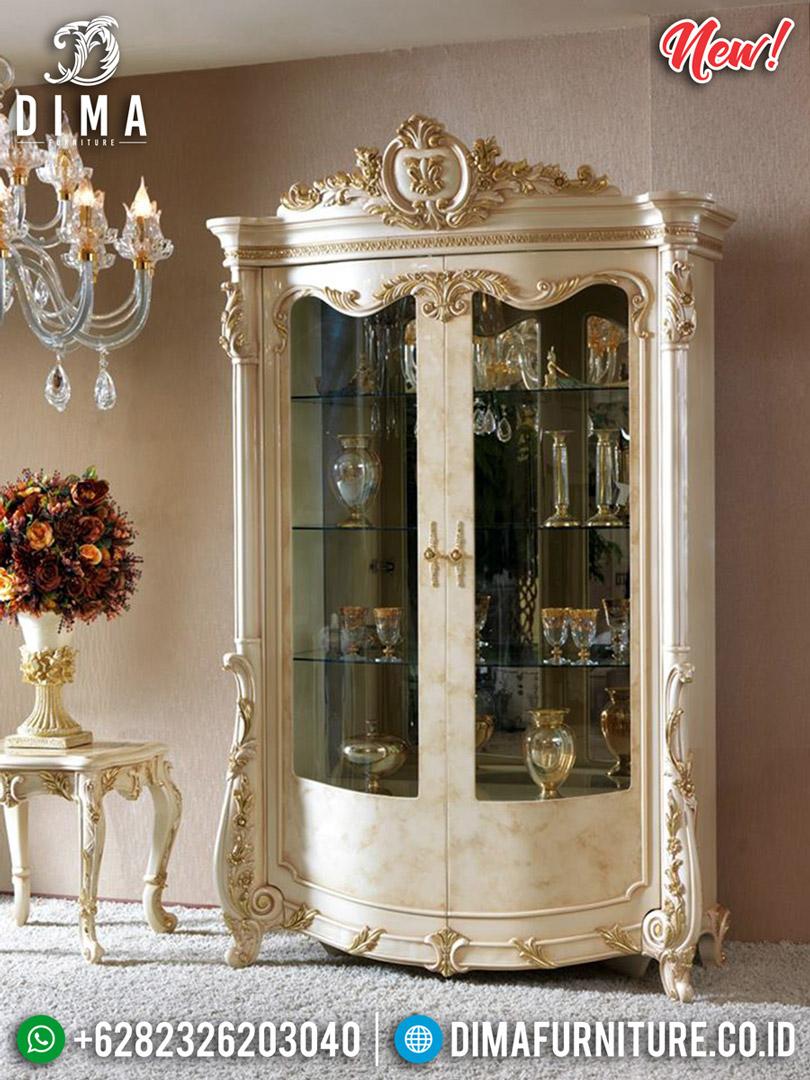New Design Lemari Hias Mewah Ukiran Luxury Carving Donatella BT-0579