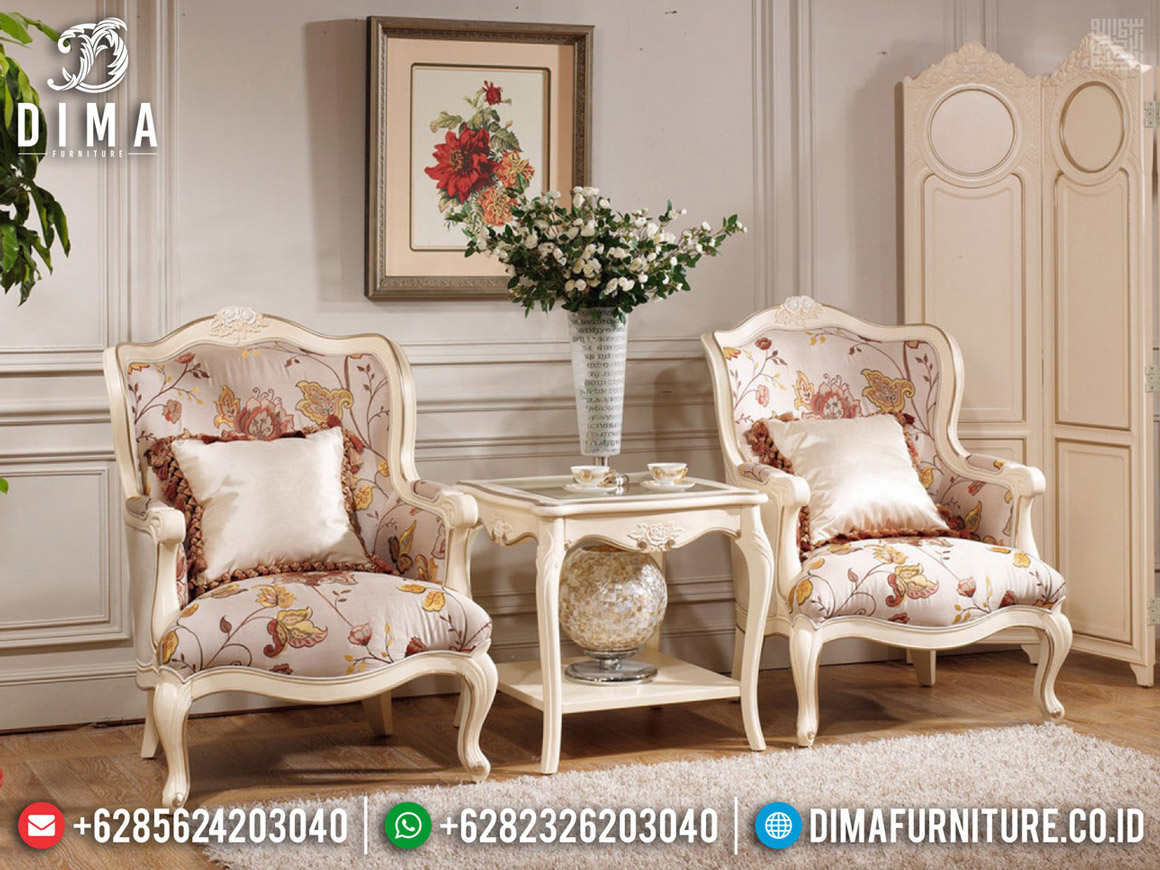 New Luxury Coffee Table Carving Furniture Jepara Classic BT-0578