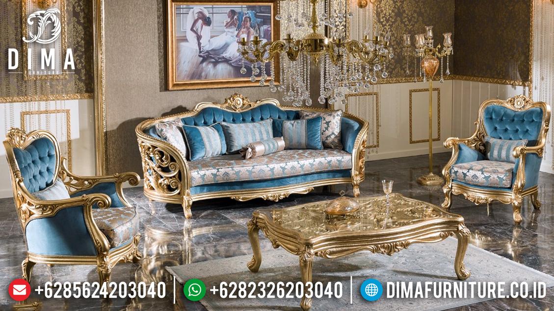 New Set Sofa Tamu Mewah Monroe Elegant Design Carving BT-0460
