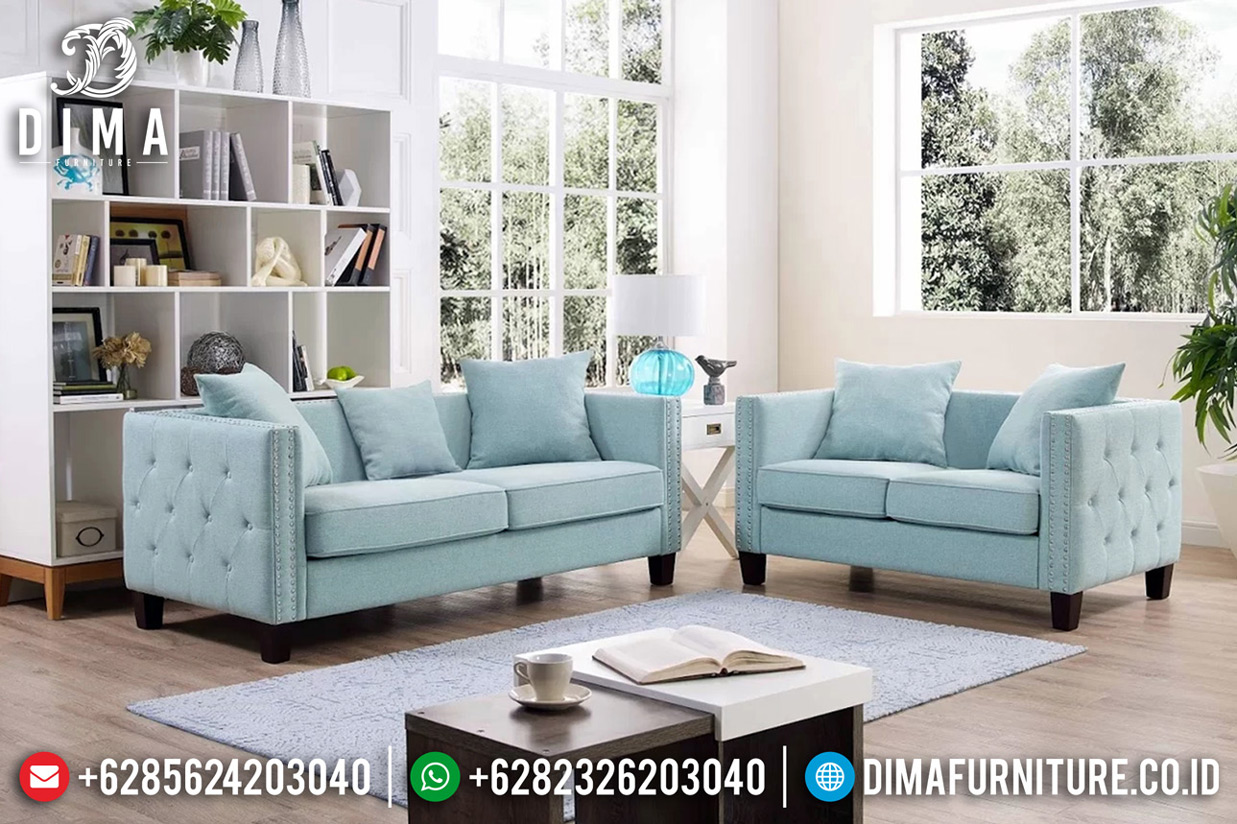 Alexa Sofa Tamu Modern Minimalis Furniture Jepara Luxury Royals Classic BT-0633