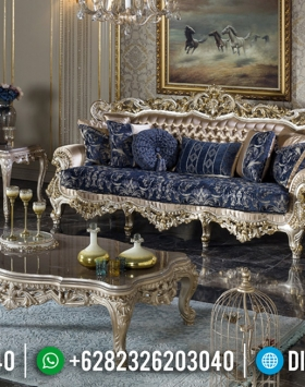 Elegant Style Sofa Tamu Ukiran Mewah Jepara New Design 2020 BT-0598
