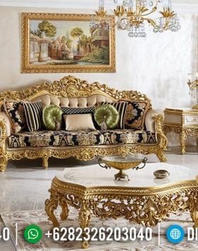 Harga Sofa Tamu Mewah Jepara Golden Empire Luxury Carving Jepara BT-0599