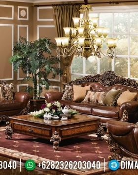 Jual Sofa Tamu Klasik Mewah Furniture Luxury Royals Ukiran Jepara BT-0642