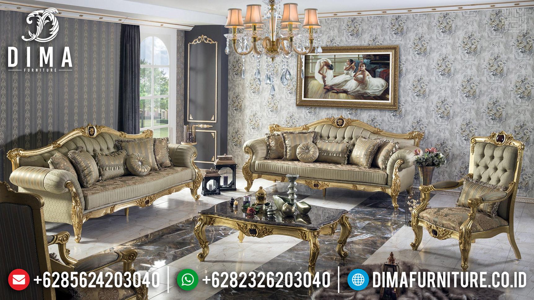 Living Room Area Sofa Tamu Jepara Mewah Harga Murah Berkualitas BT-0605