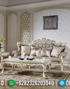 New Model Set Sofa Tamu Mewah Golden Relief Design Interior Luxury Inspiration BT-0628