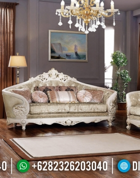 Set Sofa Tamu Mewah Luxury Carving Italian Baroque Furniture Jepara Termewah BT-0630