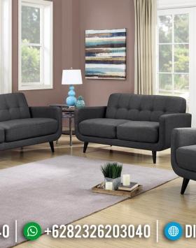 Desain Sofa Tamu Minimalis Retro Furniture Jepara Classic Style BT-0664