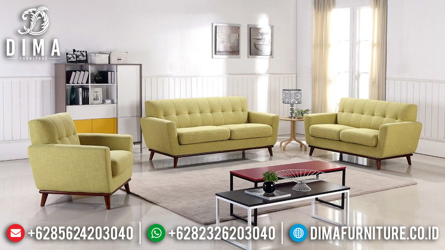 Jual Set Sofa Tamu Minimalis Desain Klasik New Classic Furniture Jepara BT-0660