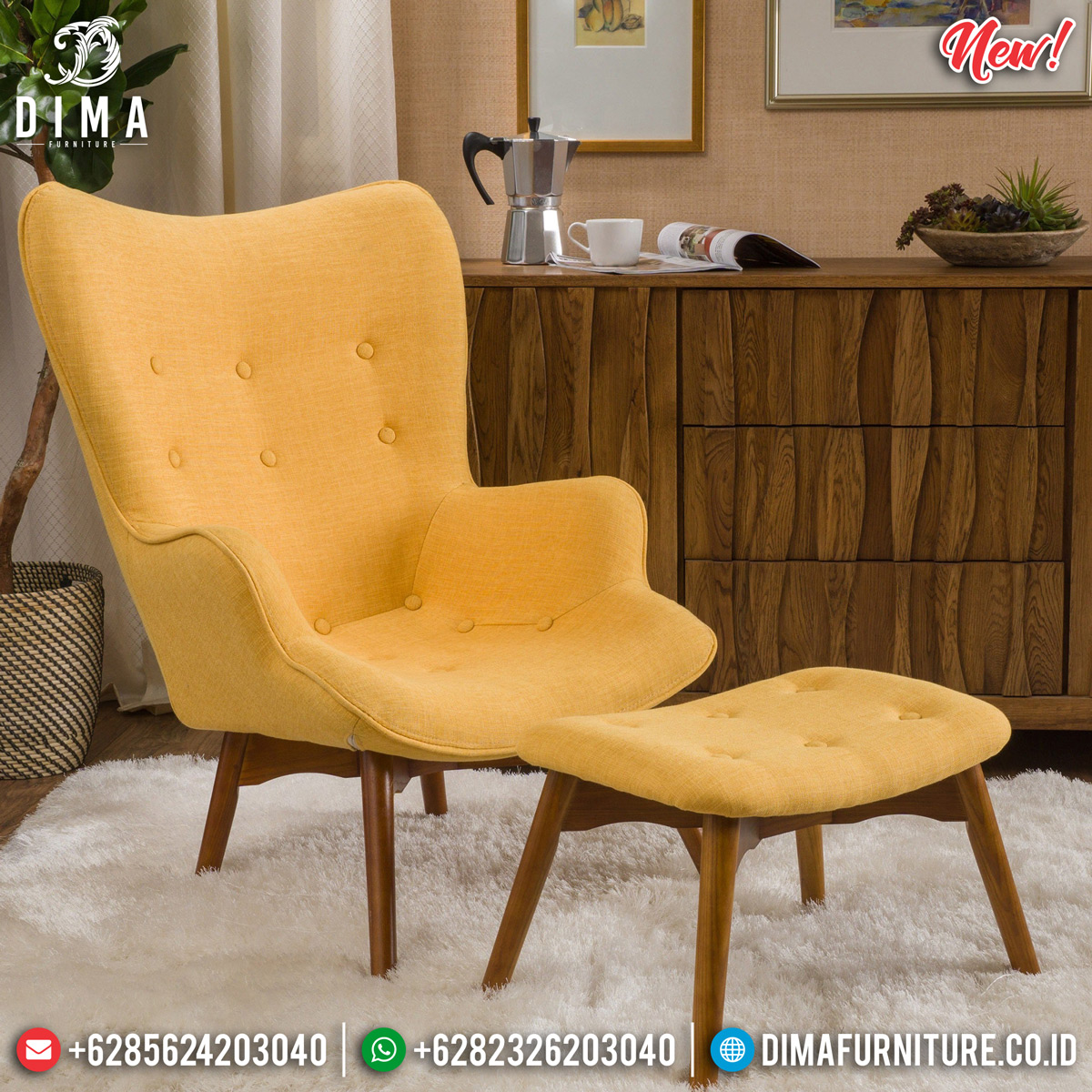 Furniture Jepara Sofa Minimalist Jepara New Design Luxury BT-0733 Desain 2