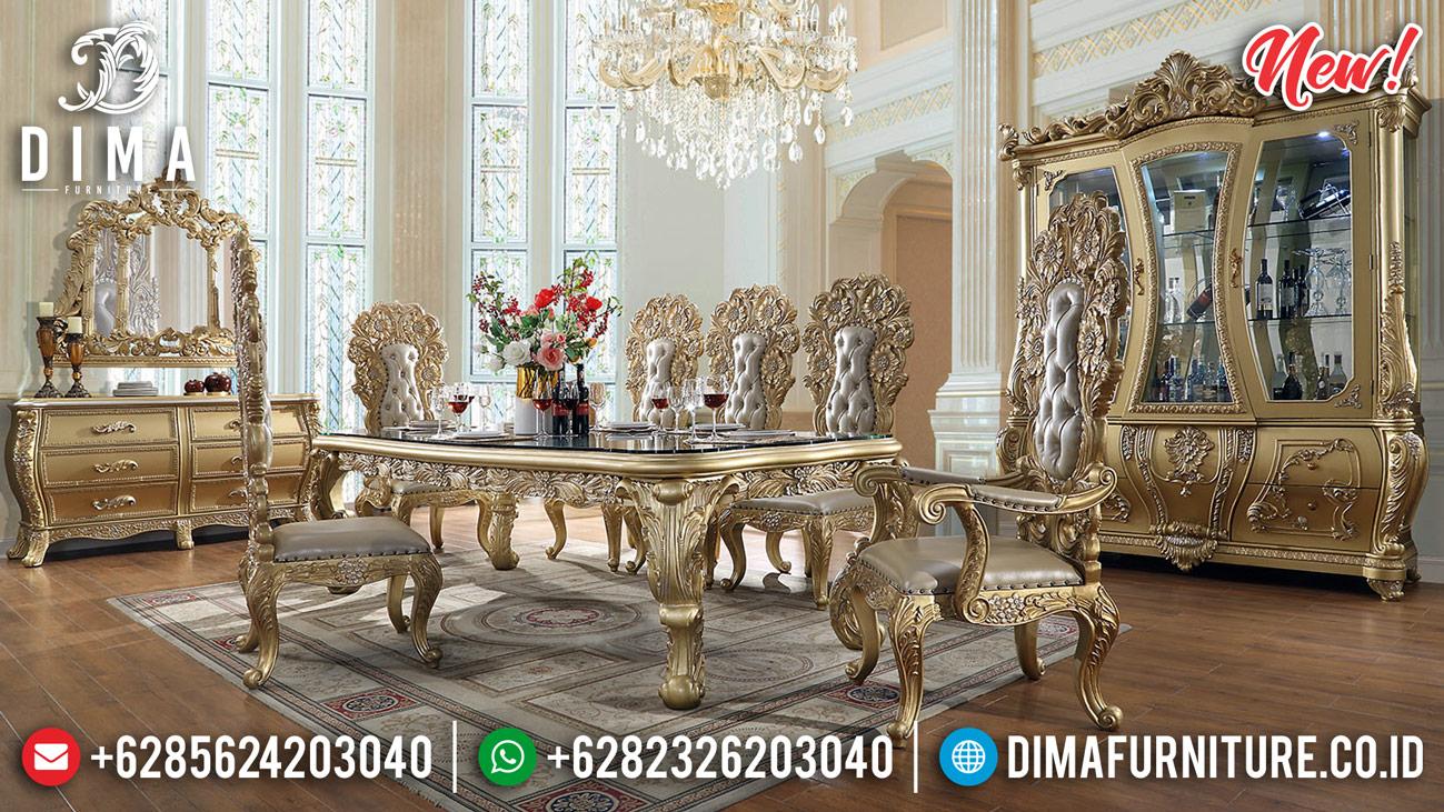 Gorgeous Meja Makan Mewah Ukiran Klasik Jepara Book Now Get Sale BT-0697