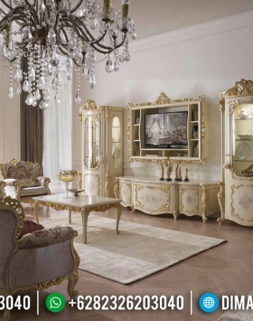 Harga Bufet TV Mewah Luxury Classic Design Elite Furniture Jepara BT-0702