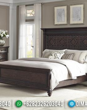 Harga Kamar Set Klasik Natural Jati Terbaru Desain Luxury Klasik BT-0675