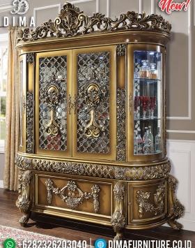 Harga Lemari Hias Ukiran Mewah Luxury Classic Guaranteed Product BT-0712