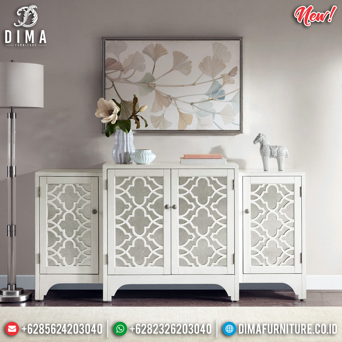 Harga Meja Konsul Minimalis Jepara New Normal Edition Furniture Jepara BT-0720