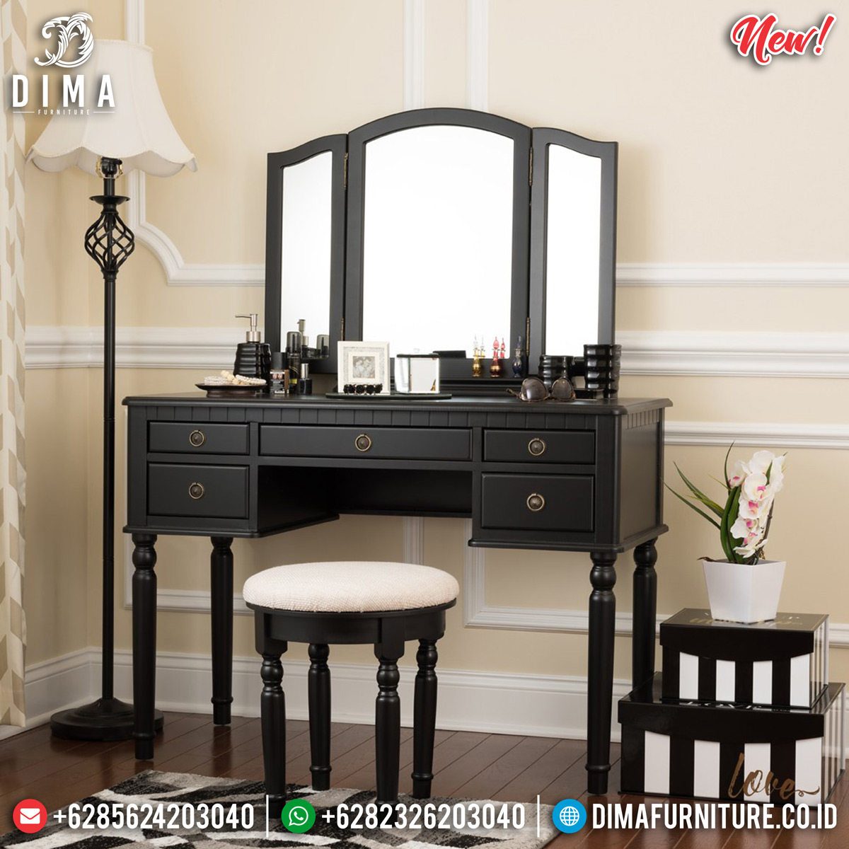 Harga Meja Rias Minimalis Furniture Jepara Luxury Get Sale Price BT-0728