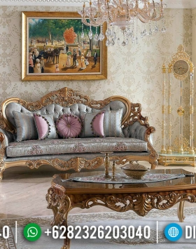 Harga Sofa Tamu Mewah Luxury Classic Beautiful Carving Baroque Style BT-0710