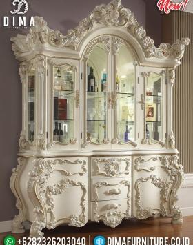 Lemari Hias Mewah Charlotte Epic Design Luxury Carving BT-0713
