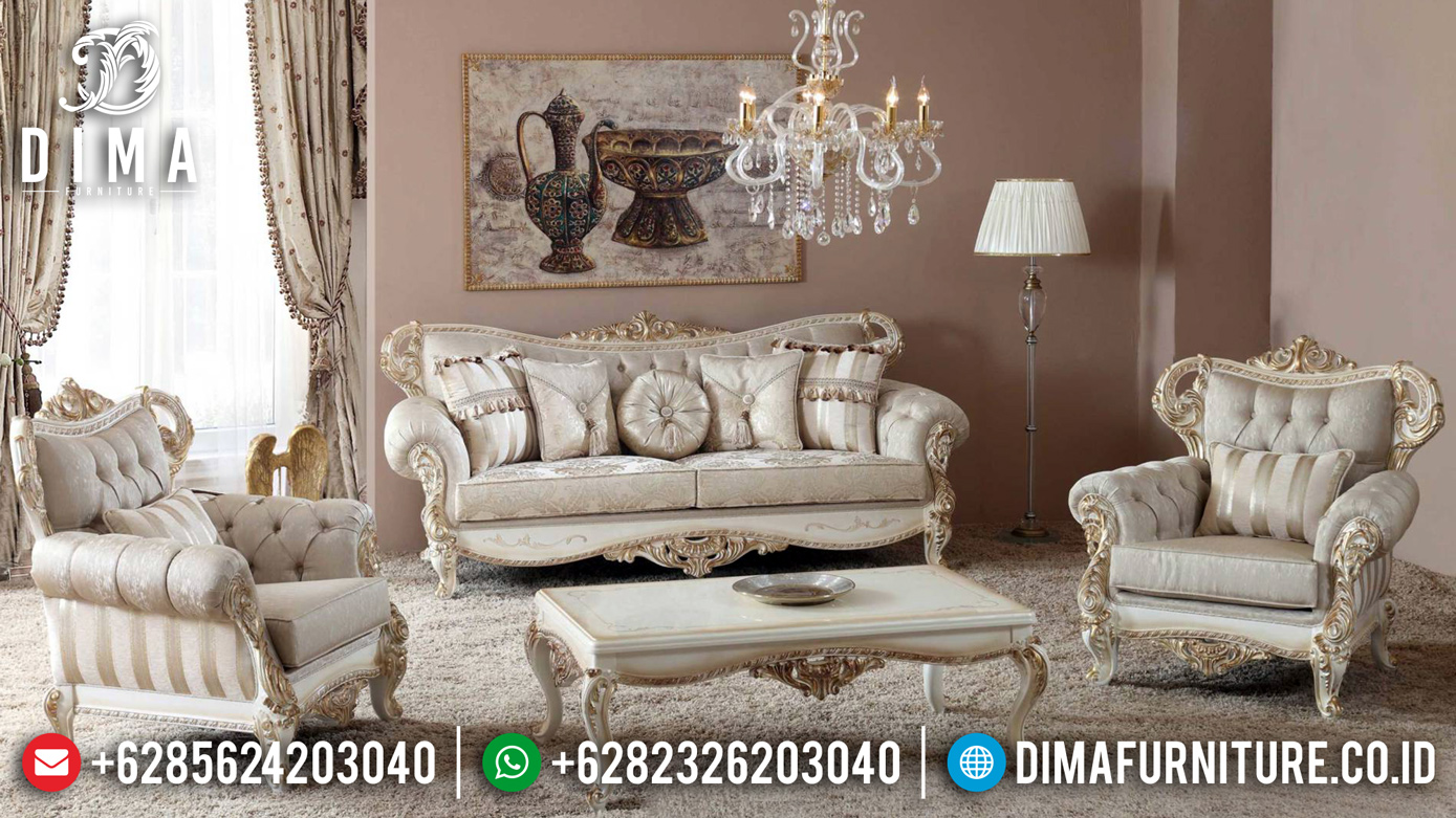 New Model Set Sofa Tamu Ukiran Klasik Luxury Furniture Jepara BT-0706