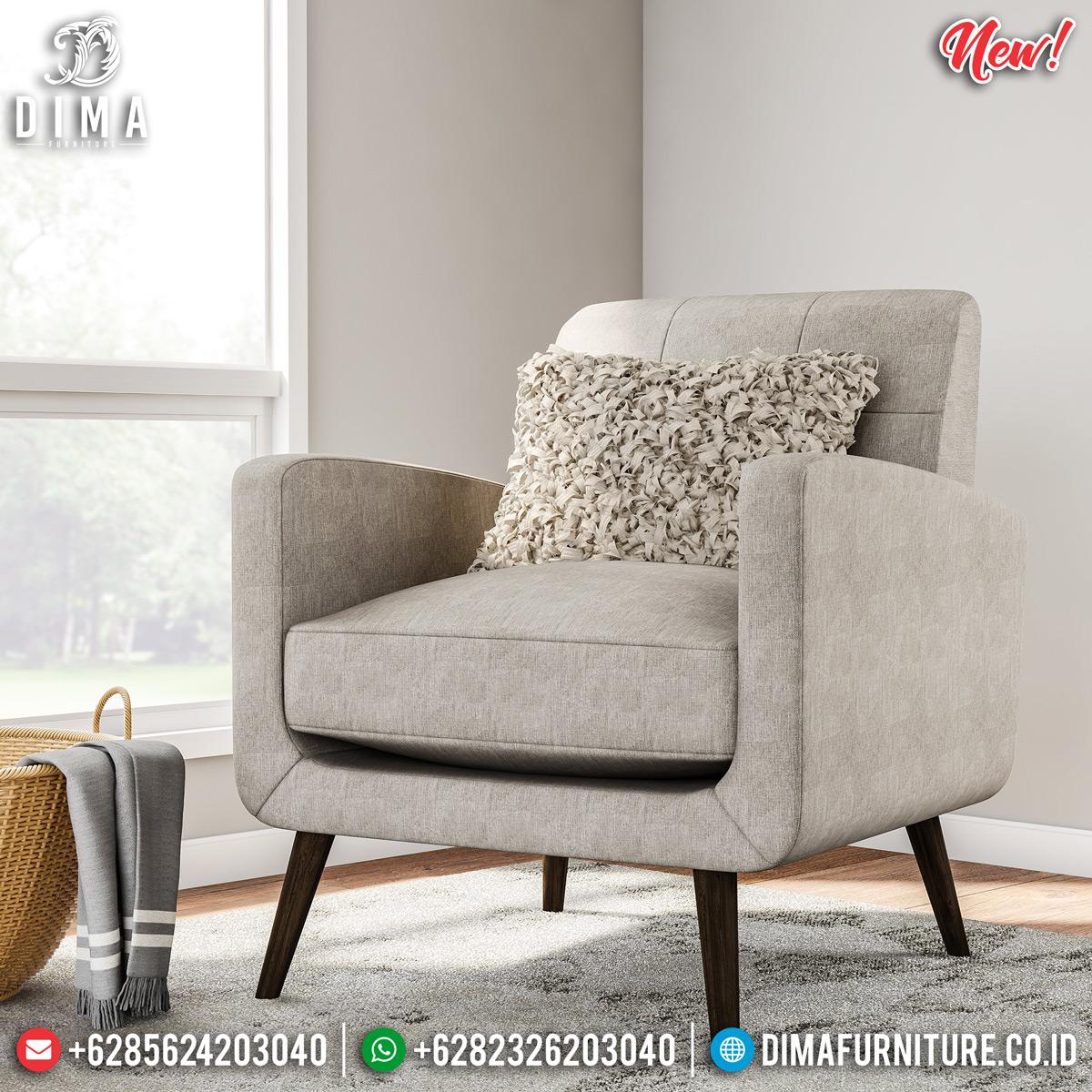 New Model Sofa Minimalis Single Epic Design Upholstery BT-0735 Model 2