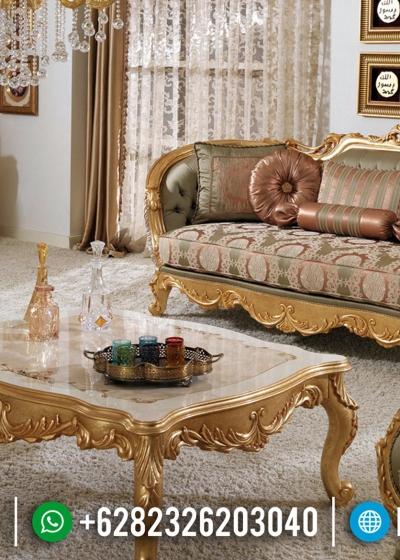 Set Sofa Tamu Mewah Desain Ruang Tamu Klasik Luxury New Style Emperial BT 0687